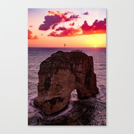 sunset #decor #buyart #society6 Canvas Print