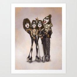 Rock and Roll All Nite Art Print