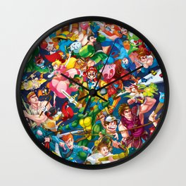 Playing with Power! Wall Clock