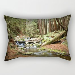 Crystal Stream Rectangular Pillow