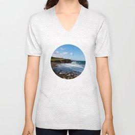 Ocean Coastline Unisex V-Neck
