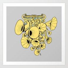 Gramophone DJ Art Print