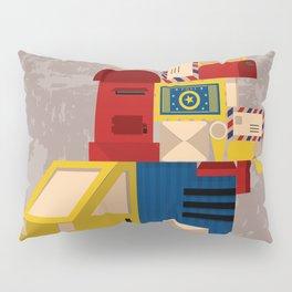 Postman's Post-er poster Pillow Sham