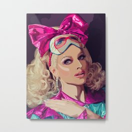 Courtney Act Metal Print