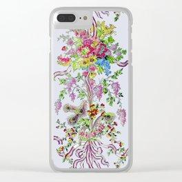 Marie Antoinette's Boudoir Clear iPhone Case