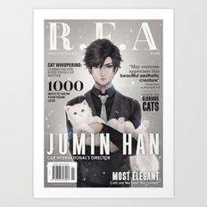 [RFA Cover] Jumin Han Art Print