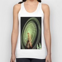 ferris wheel Tank Tops featuring Ferris Wheel by Benedict Middleton