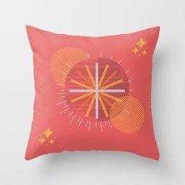 Geometric Courage Throw Pillow