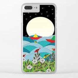 beautiful night Clear iPhone Case