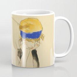 """Egon Schiele """"Zwei Liegende Figuren"""" Coffee Mug"""