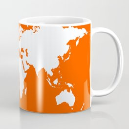 Vermillion Elegant World Coffee Mug