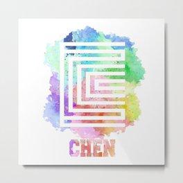 Chen Metal Print