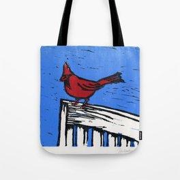 Cardinal Lino Cut Tote Bag
