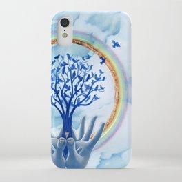 Grateful Presence iPhone Case