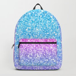 Colorful Retro Glitter And Sparkles Backpack