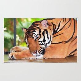 Sleeping Tiger Rug