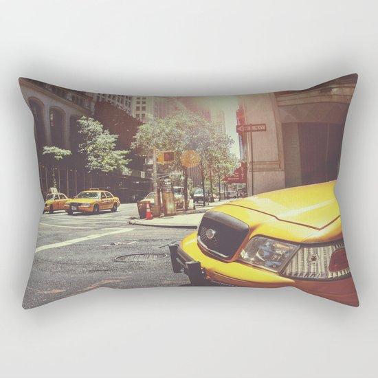 Taxi Rectangular Pillow