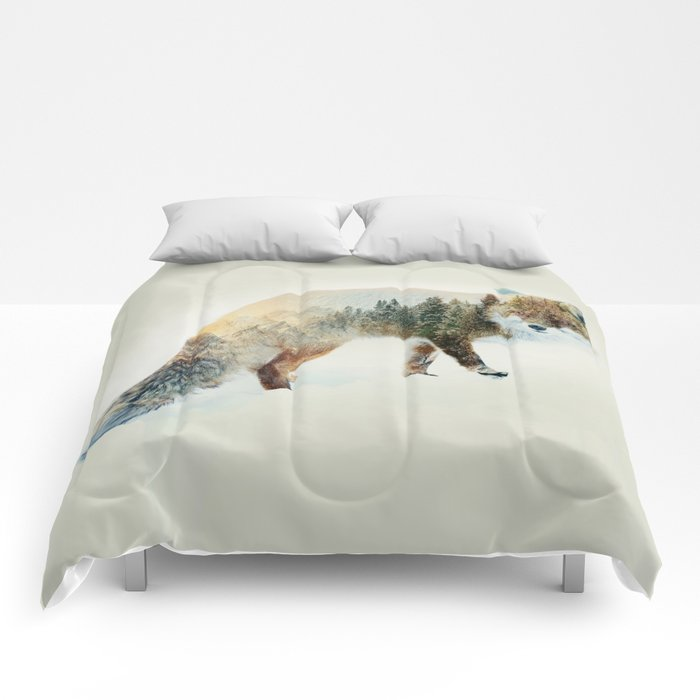 Winter Fox Comforters