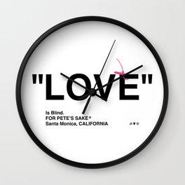 """LOVE"" Wall Clock"