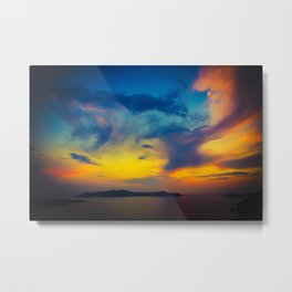 My sunset Metal Print