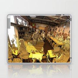 Monk bodhi dharma Laptop & iPad Skin
