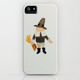 Thanksgiving Pilgrim Puritan Baby Boy Toddler iPhone Case