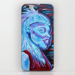 Yolandi Visser Portrait Fan Art iPhone Skin