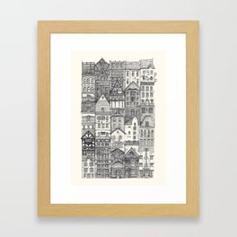 Crowded #4 Framed Art Print