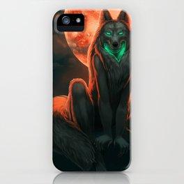 Werewolf (#Drawlloween2016 Series) iPhone Case