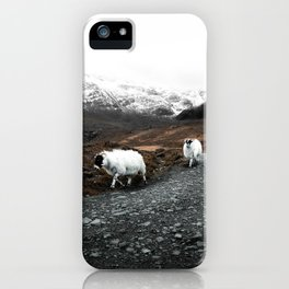 Ram Crossing / Isle of Skye iPhone Case