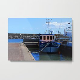 Reunion Island, Indian Ocean Metal Print