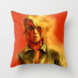 Eric Slingby Sunset Throw Pillow