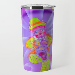 Funny World Clown 2 Travel Mug