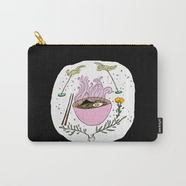 Pink Ramen and Good Smells Carry-All Pouch