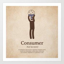 Consumer Art Print