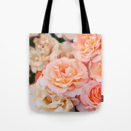 Light Pink Roses Tote Bag