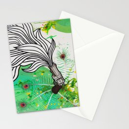 Beauty and the Death Machine Stationery Cards