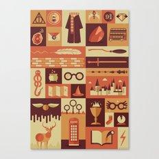 Accio Items Canvas Print