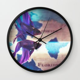 You can now use the old map to explore the new world. Wall Clock