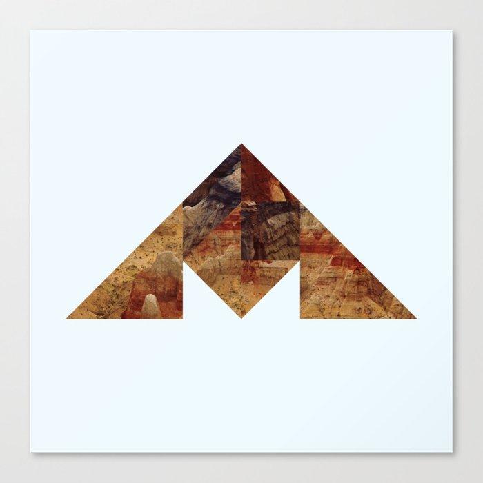 COAL MOUNTAIN Canvas Print