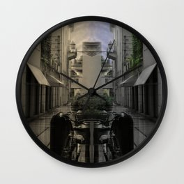 Mirrored times Wall Clock