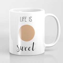 Life Is Sweet Stroopwafel Coffee Mug