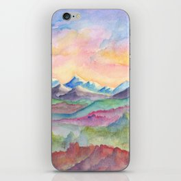 Over the Hills and Far Away iPhone Skin