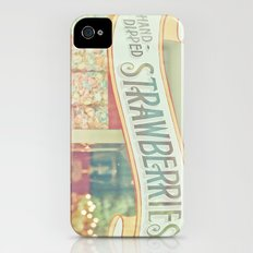 Hand-Dipped Strawberries iPhone (4, 4s) Slim Case