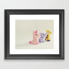 Friends: Staring into the Sun Framed Art Print