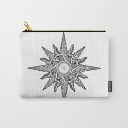 Surf in a Windrose – Compass (tattoo style) Carry-All Pouch