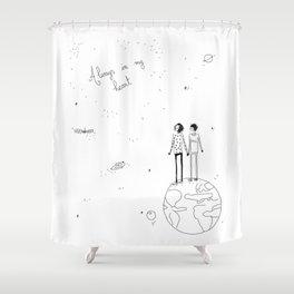 always in my heart 2 Shower Curtain