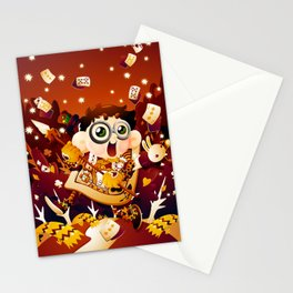 Alice in Wonderland- The King of Hearts Stationery Cards