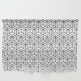Hand Drawn Hypercube Wall Hanging
