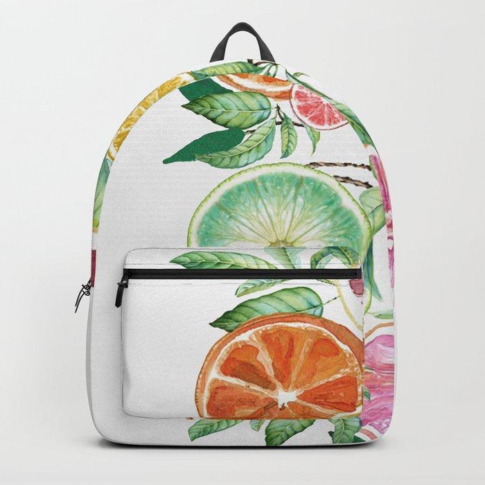 Citrus Fruit Backpack